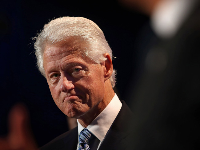 Bill Clinton's quick take on aliens