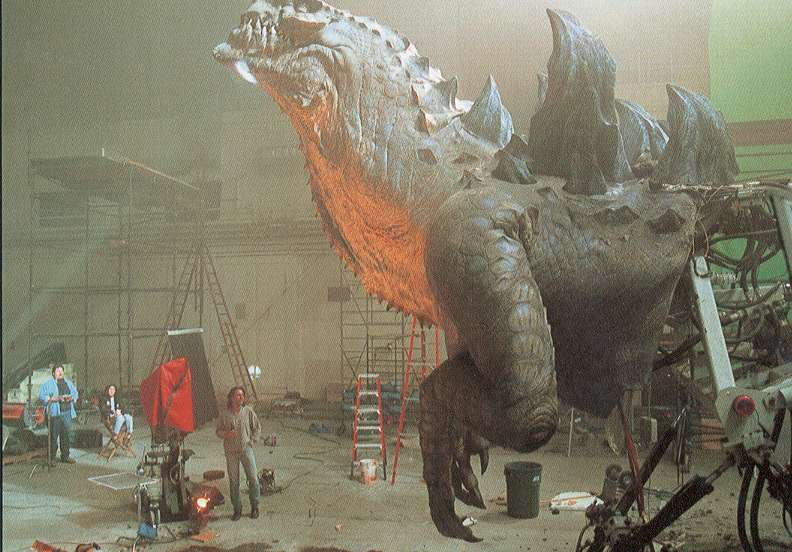 Godzilla stands strong