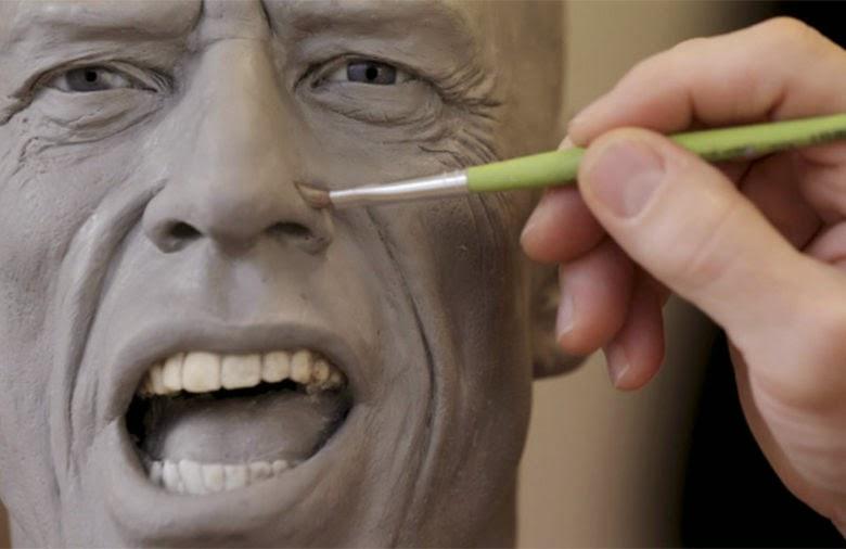 mick jagger wax figure