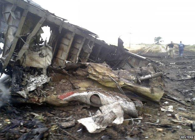 Flight MH17 over Ukraine